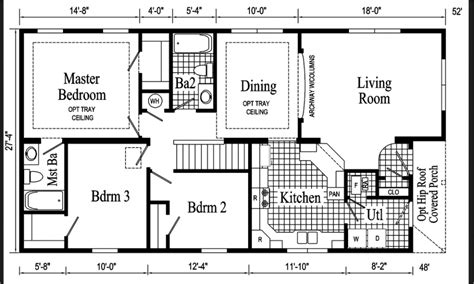 18 wide mobile home floor plans 18 x 60 mobile home floor plans mobile homes ideas