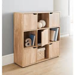 Children S Toy Storage And Bookcase Unit 9 Cube 5 Doors Shelves For Storage Books Shelving Toys