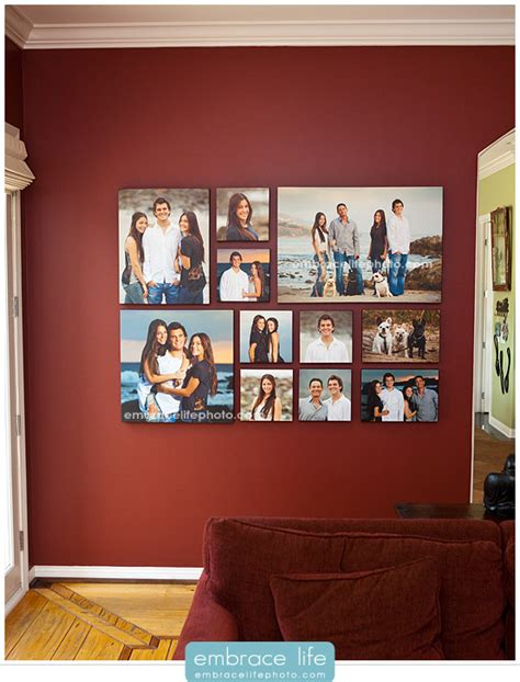 wall collages with photos wall collage photo collage photo display living rooms