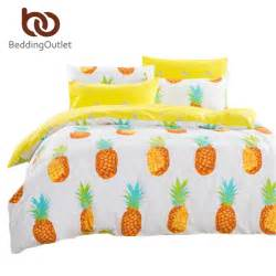 Bed Comforter Sets Queen Dropshipping Pineapple Bedding Set Sweet Printed Fruit