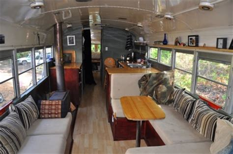 Short Bed Truck Camper Craigslist Family Lives In A Converted 40 Foot Bus Named Eliza Brownhome