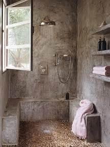 concrete shower 20 awesome concrete bathroom designs decoholic