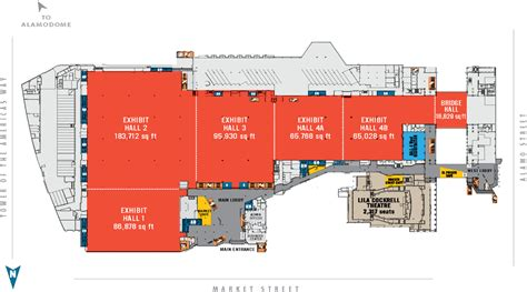 ta convention center floor plan floor plans