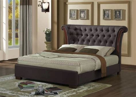 glamorous bedding elegant beds with large headboard