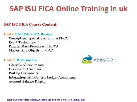 tutorial sap isu sap isu fica online training classes