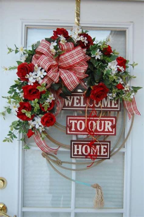 wreaths for your front door home decor 25 wreath ideas messagenote