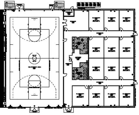 purpose of a floor plan multi purpose church building plans images