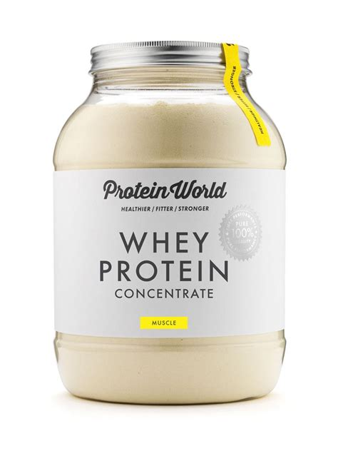 protein for whey protein concentrate