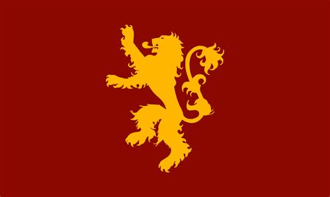 house of lannister the flag of house lannister by achaley on deviantart