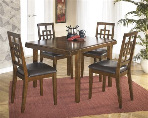 dining room side table cimeran rectangular table 4 side chairs d295 225 dining room groups price busters furniture