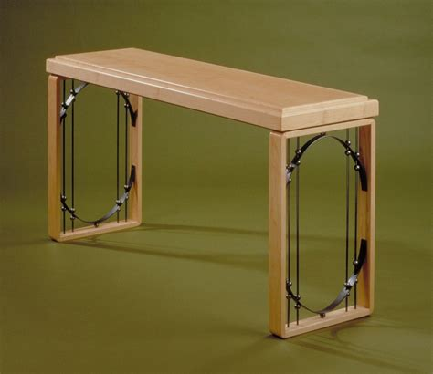 maple sofa table hand crafted hard maple sofa table by third street studios