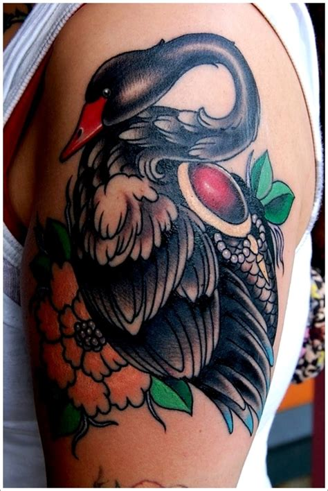 swan tattoo designs 30 dazzling and eye catching swan designs