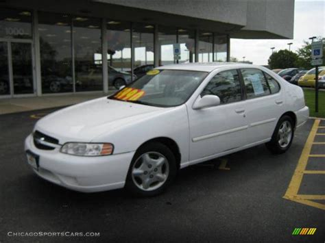 2000 nissan altima 2000 nissan altima gxe in cloud white 209900