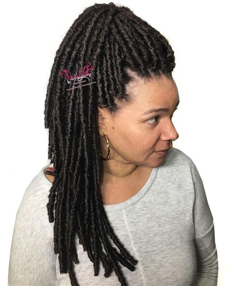 midland tx dreadlocks hairstyle 23 best faux loc hair for black women images on pinterest
