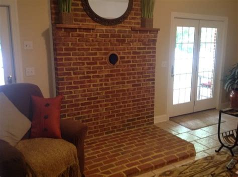 converting wood stove space to gas fireplace