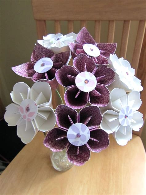 Bouquet Origami - 86 best images about origami flowers on paper