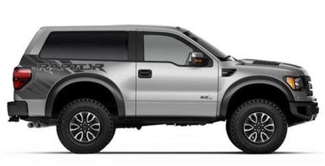 2020 Ford Svt Bronco Raptor by 2019 Ford Bronco Svt Raptor V8 Review Changes 2020