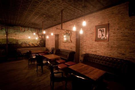victoria brown steampunk bar  industrial style