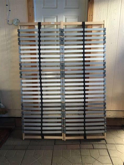 ikea lonset ikea lonset slatted bed base queen furniture in