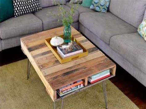 17 Idées pour Fabriquer une Table Basse Palette   Deco Cool