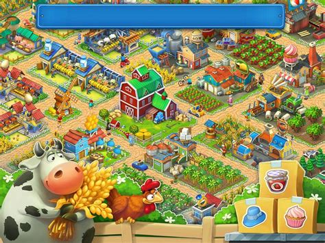 township layout game screenshots for township on behance game pinterest