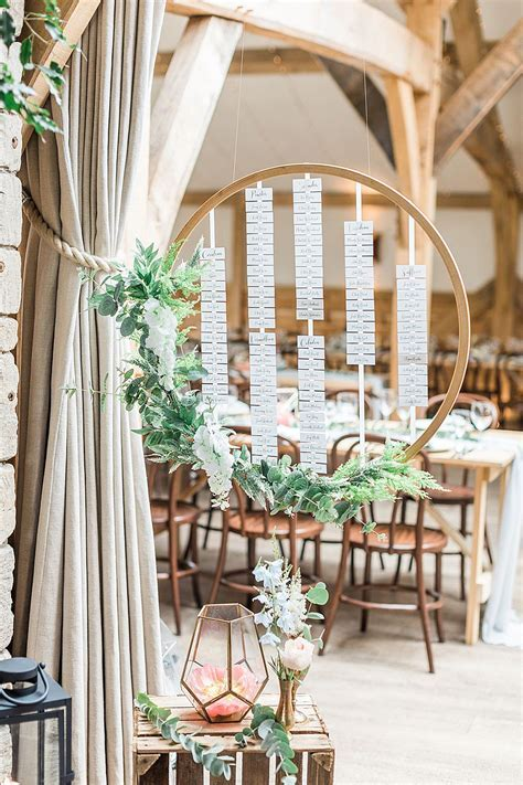 Marble, Copper & Greenery Wedding at Cripps Barn Cotswolds