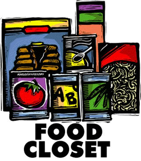 Closet Food by Donate New Resource Center