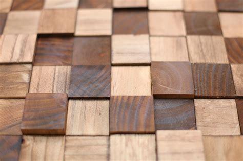 Diy Tile Kitchen Backsplash by Wooden Mosaic Wall Art Diy A Beautiful Mess