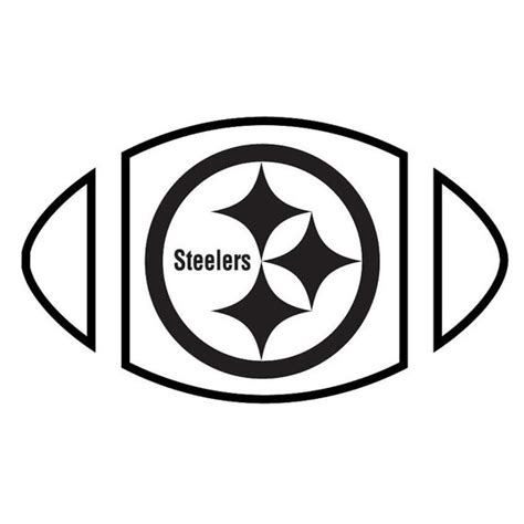 pittsburgh steelers vinyl graphic decal car sticker