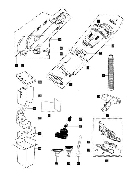 dyson dc28 parts diagram dyson dc33 parts diagram dyson dc33 replacement parts