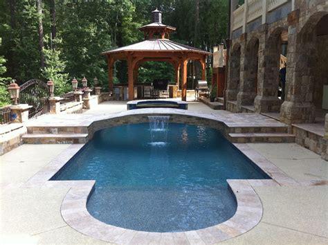 backyard oasis pools backyard oasis pools shape pool bridge