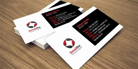 single sided business card template psd 100 free psd business card templates
