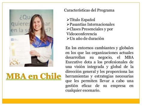 Mba Programs In Chile by Mba Chile