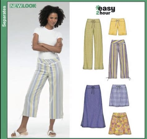 new pattern jeans pant new look sewing pattern 6354 sizes 6 16 womens skirt pants