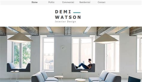 room design website free interior design portfolio wix template wix portfolio