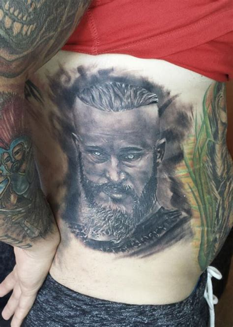 ragnar head tattoos ragnar lodbrok best design ideas