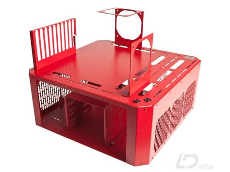 pc bench table ld pc v4 bench table red ld cooling computer cases