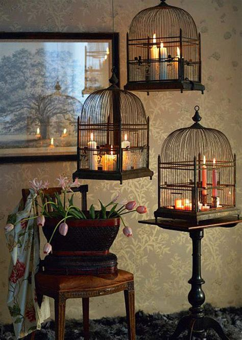 Candle Home Decor Bird Cages Candle Decor Picsdecor
