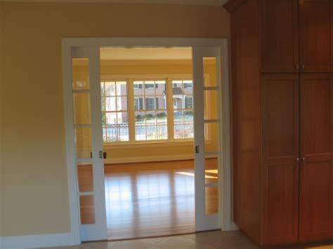Frosted Glass Pocket Door Door Styles Glass Pocket Doors Interior