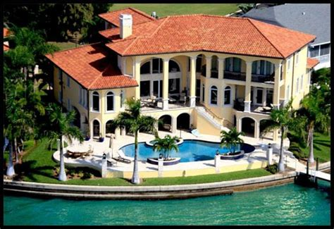 ta bay waterfront homes beautiful homes mansions