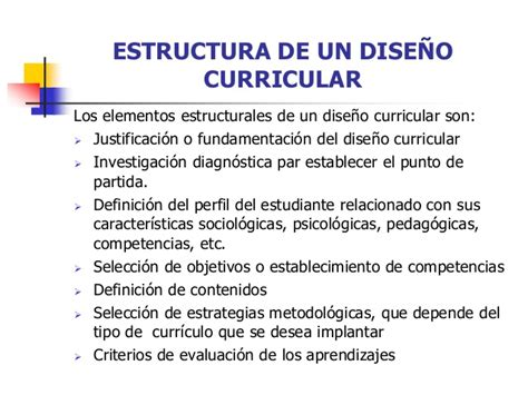 Diseño Curricular Definicion Diaz Barriga Programa Curricular