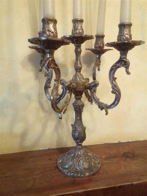 un candelabro antiguo aqui antiguo candelabro bronce 5 brazos con velas comprar