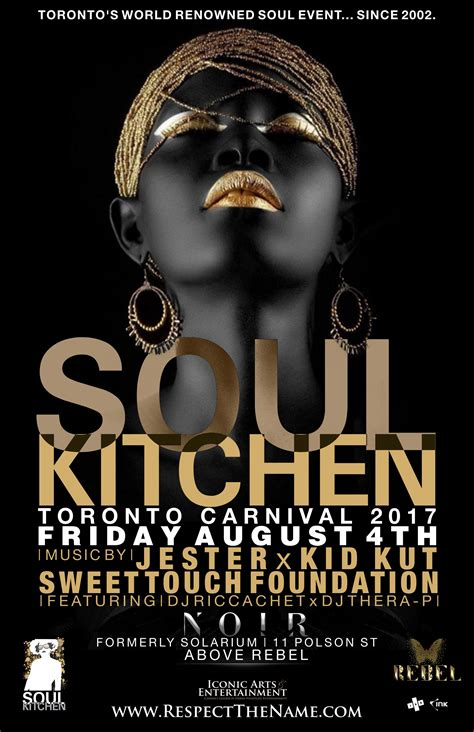 soul boat august 2017 soul kitchen carnival edition 2017 friday august 4th