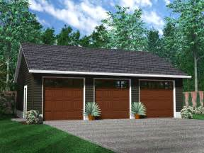 home plans with 3 car garage detached garages