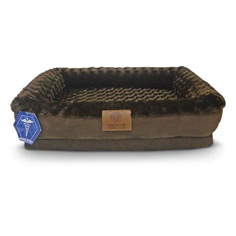 orthopedic dog bed akc 174 orthopedic dog bed 294116 kennels beds at