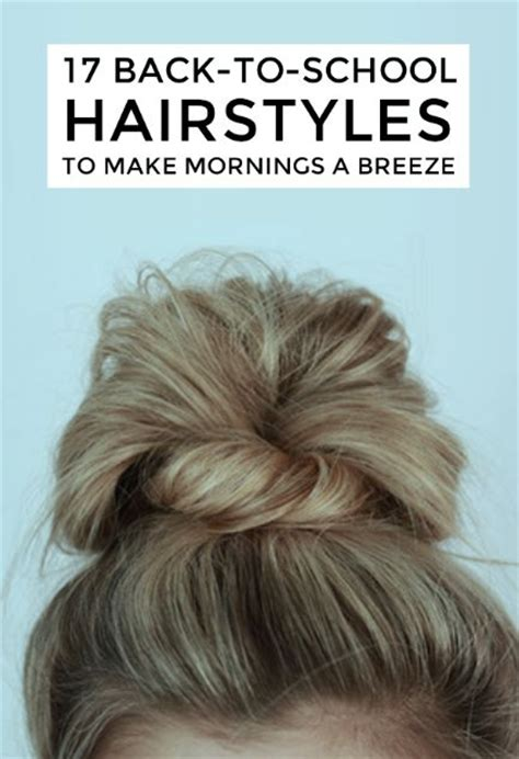 cute hairstyles you can sleep in easy back to school hairstyles to let you sleep in later