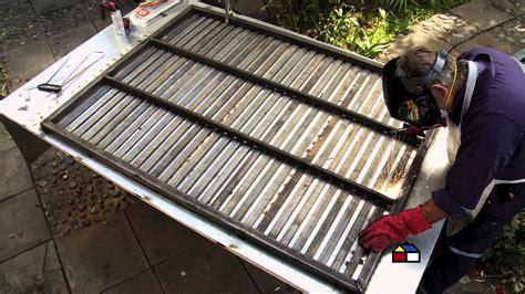 enrejado madera sodimac 191 c 243 mo hacer un port 243 n de fierro youtube