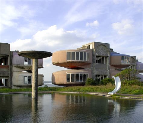 futuristic houses architekturalab sanzhi pod houses taiwan
