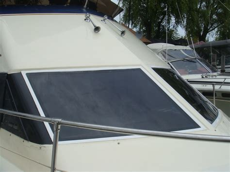 boat windshields hatteras sport cruiser 31 lookout boat windows