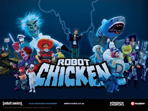 film robot chicken nycc 2014 robot chicken cast interviews cosmos gaming